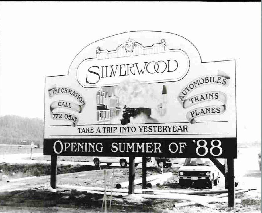 silverwood sign welcome